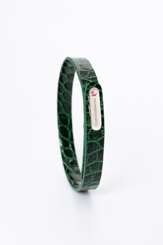Armband Flank Alligator GRETA women